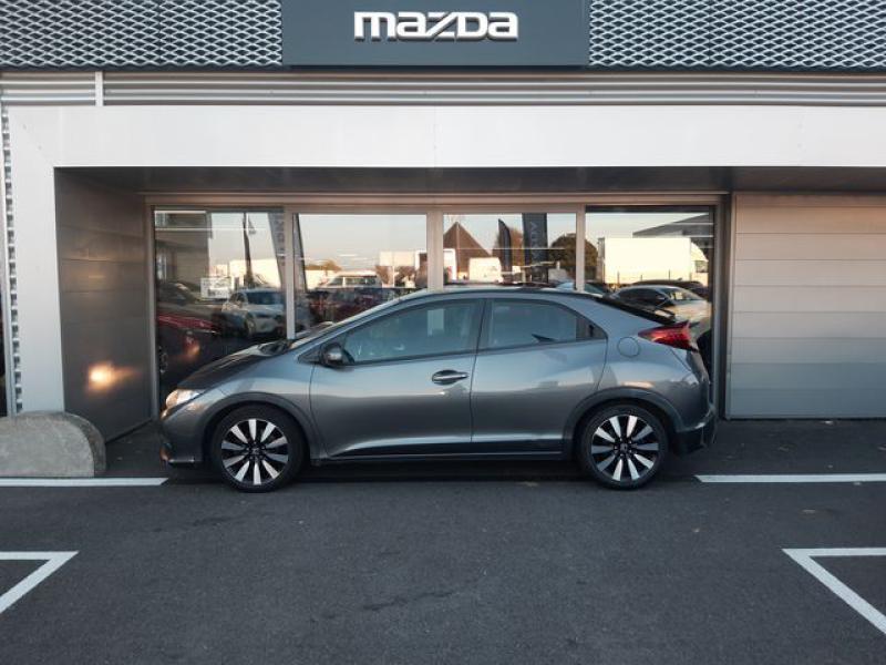 Honda Civic 1.6 i-DTEC 120ch Elegance Argent occasion à Cesson-Sévigné - photo n°5