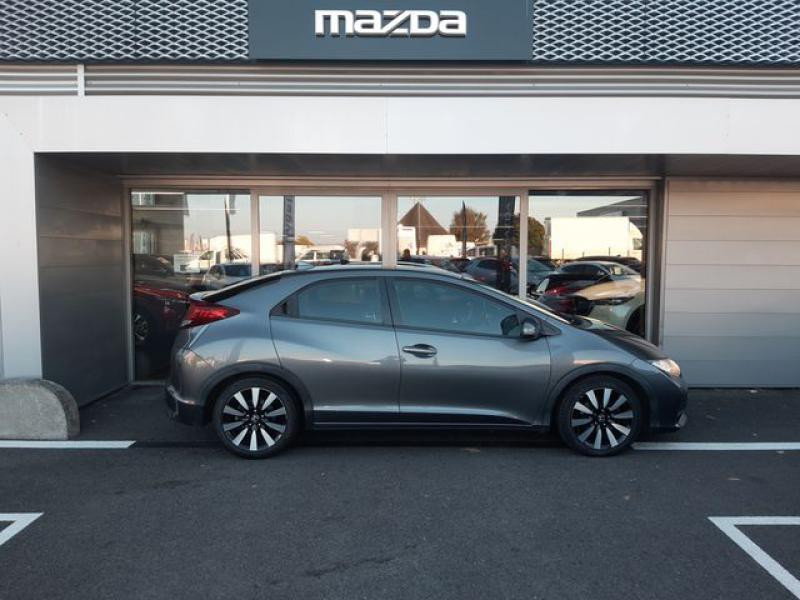 Honda Civic 1.6 i-DTEC 120ch Elegance Argent occasion à Cesson-Sévigné - photo n°6