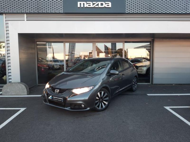 Honda Civic 1.6 i-DTEC 120ch Elegance Argent occasion à Cesson-Sévigné