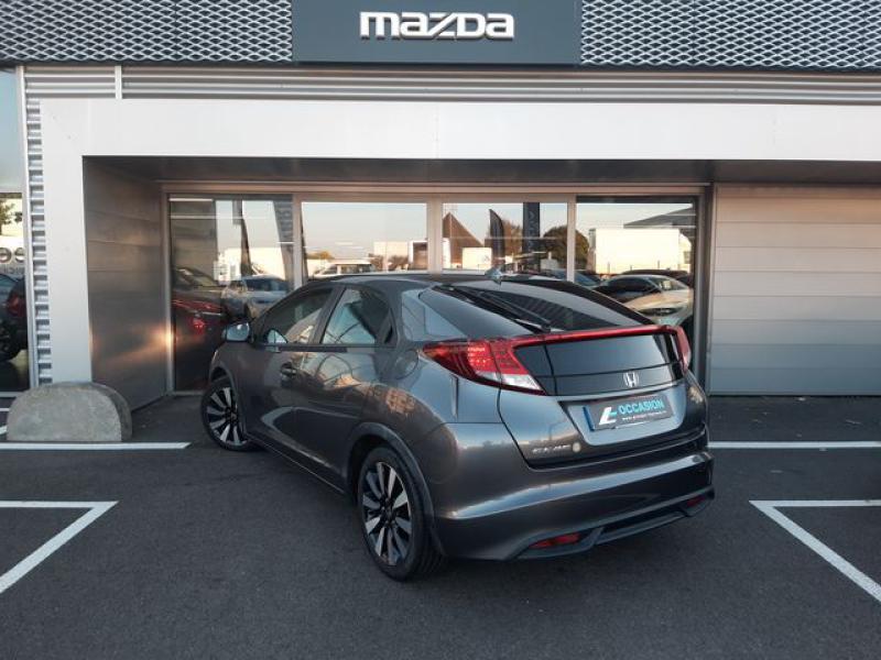 Honda Civic 1.6 i-DTEC 120ch Elegance Argent occasion à Cesson-Sévigné - photo n°3