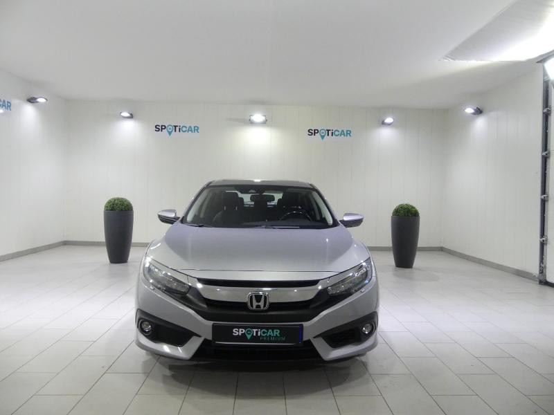 Honda Civic 1.6 i-DTEC 120ch Exclusive AT 4p Gris occasion à Quimper - photo n°2