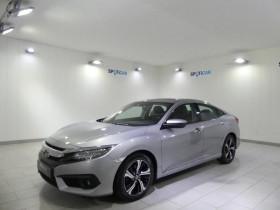 Honda Civic occasion 2018 mise en vente à Quimper par le garage Peugeot G.Nédélec Quimper - photo n°1
