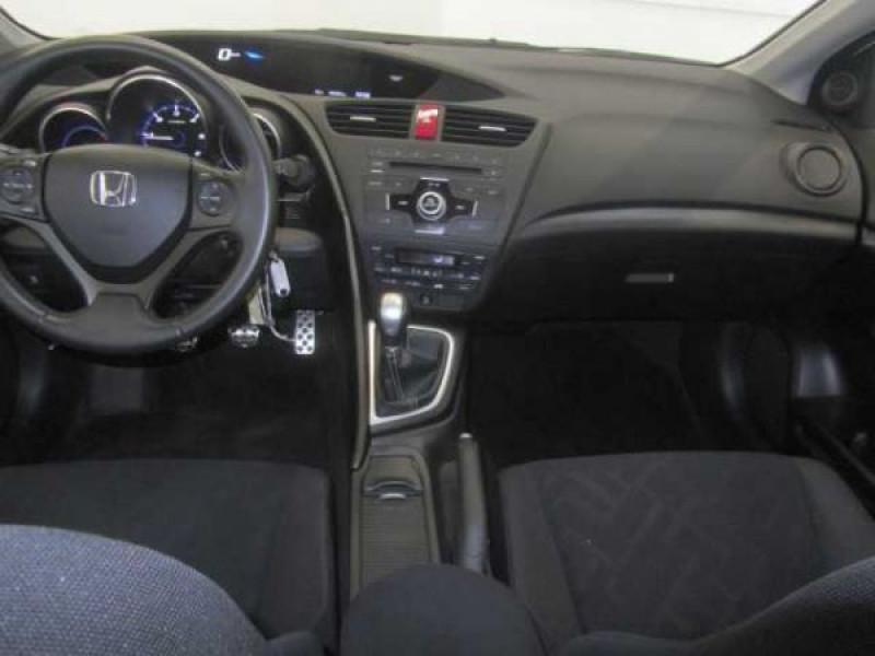 Honda Civic 2.2 CDTI 150 CH Sport Blanc occasion à Beaupuy - photo n°8
