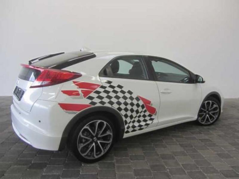 Honda Civic 2.2 CDTI 150 CH Sport Blanc occasion à Beaupuy - photo n°2
