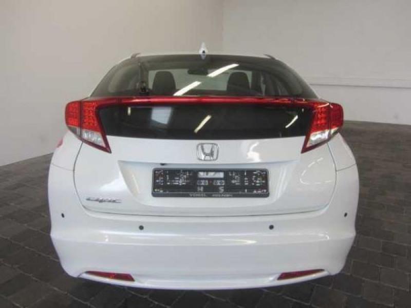Honda Civic 2.2 CDTI 150 CH Sport Blanc occasion à Beaupuy - photo n°4