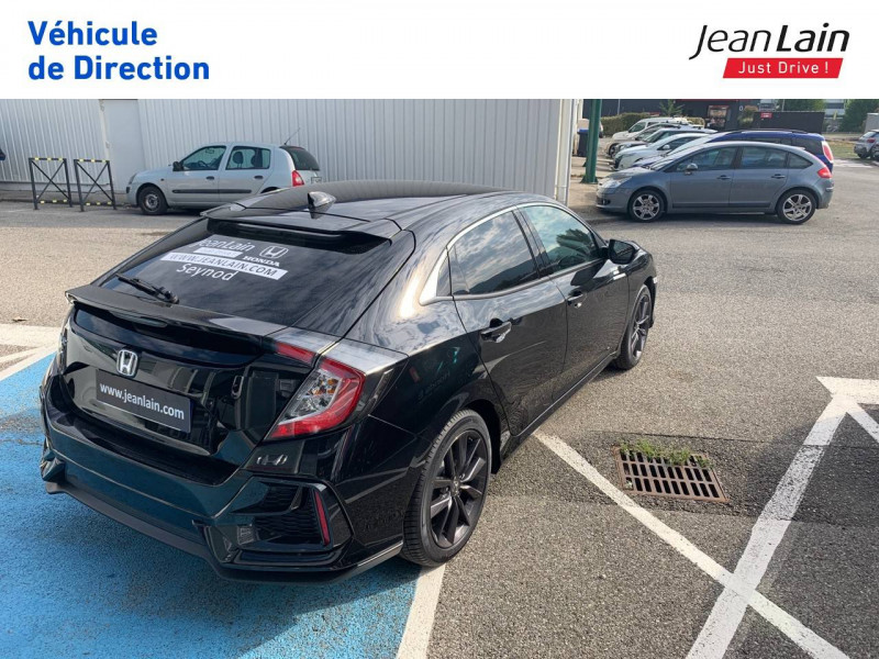 Honda Civic Civic 1.0 i-VTEC 126 Executive 5p Noir occasion à Seynod - photo n°5