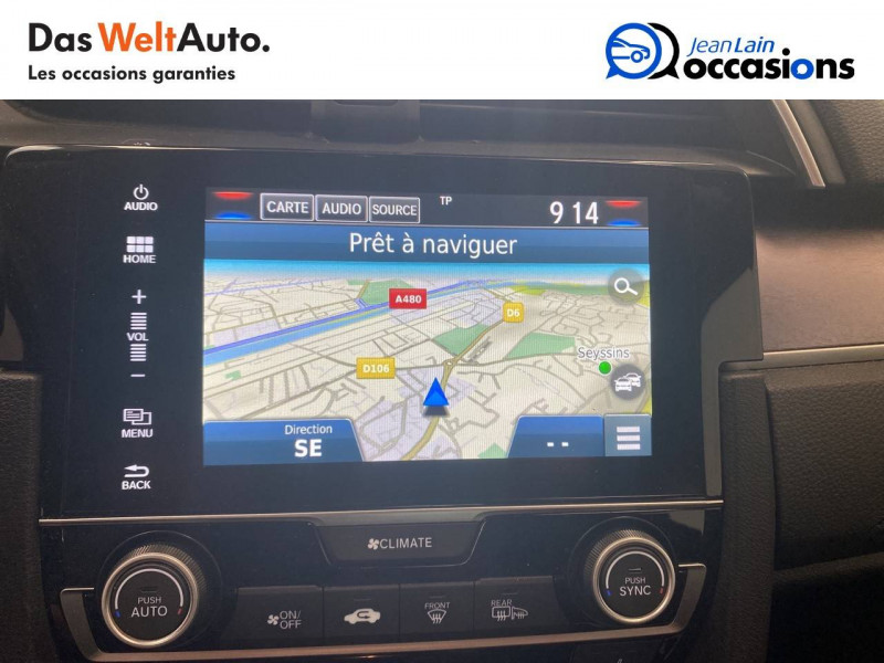 Honda Civic Civic 1.5 i-VTEC 182 Exclusive 4p Gris occasion à Seyssinet-Pariset - photo n°15