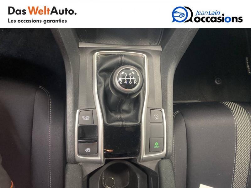 Honda Civic Civic 1.5 i-VTEC 182 Exclusive 4p Gris occasion à Seyssinet-Pariset - photo n°13