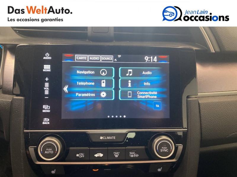 Honda Civic Civic 1.5 i-VTEC 182 Exclusive 4p Gris occasion à Seyssinet-Pariset - photo n°16