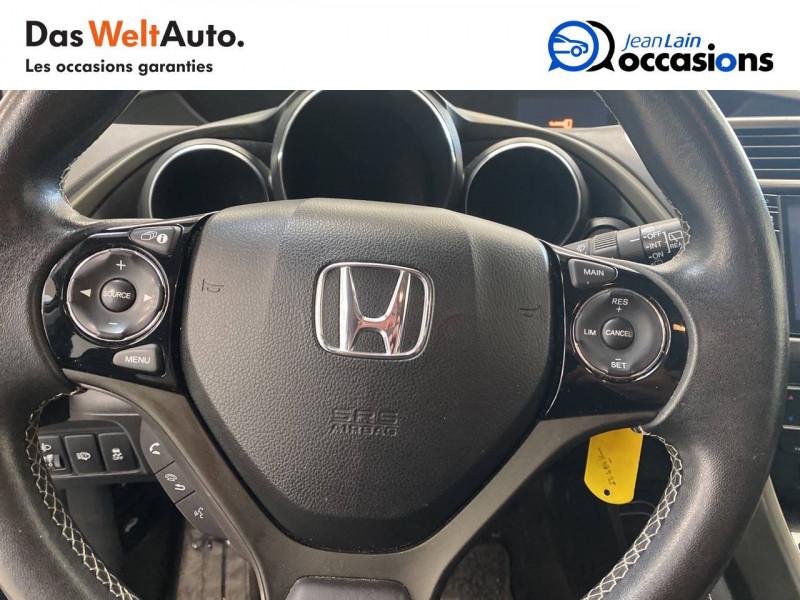 Honda Civic Civic 1.6 i-DTEC 120 Vaillante 5p Bleu occasion à Crolles - photo n°12