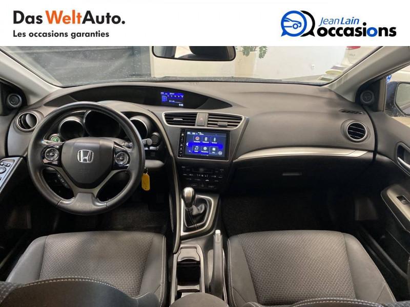 Honda Civic Civic 1.6 i-DTEC 120 Vaillante 5p Bleu occasion à Crolles - photo n°18