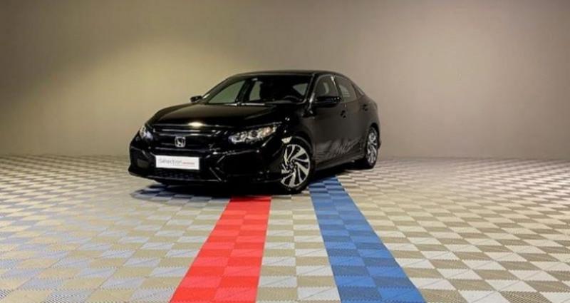Honda Civic ELEGANCE 1.6 I-DTEC Noir occasion à Saint Etienne
