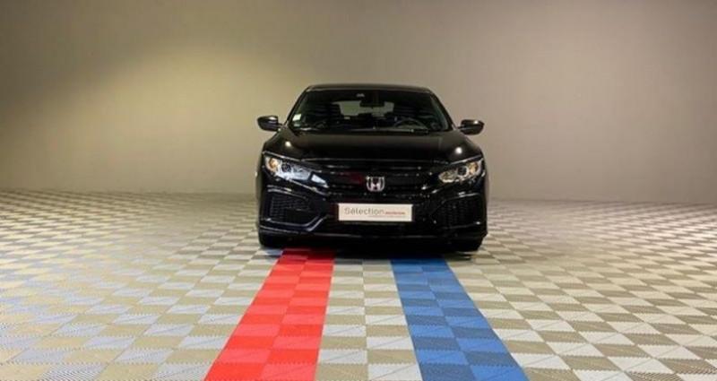 Honda Civic ELEGANCE 1.6 I-DTEC Noir occasion à Saint Etienne - photo n°3