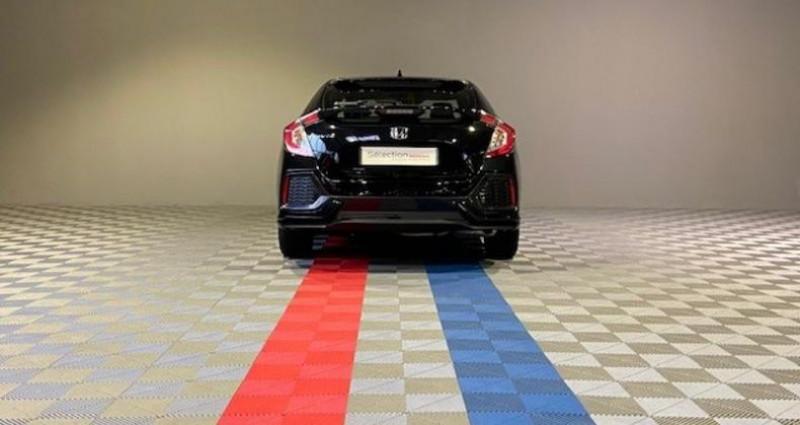 Honda Civic ELEGANCE 1.6 I-DTEC Noir occasion à Saint Etienne - photo n°4