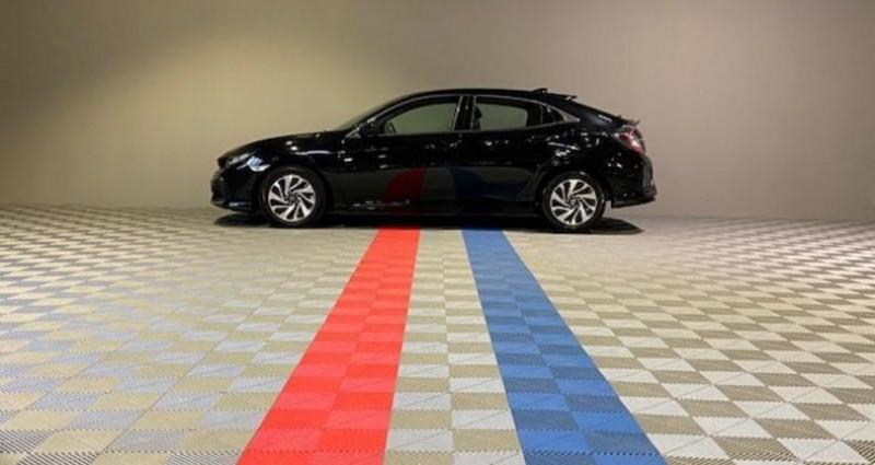 Honda Civic ELEGANCE 1.6 I-DTEC Noir occasion à Saint Etienne - photo n°6