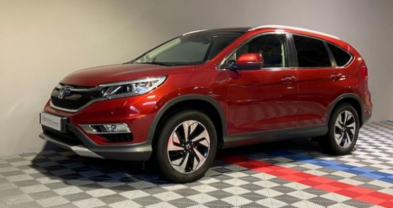 Honda CR-V 1.6 i-DTEC 120ch Executive Navi 2WD Rouge occasion à Saint Etienne