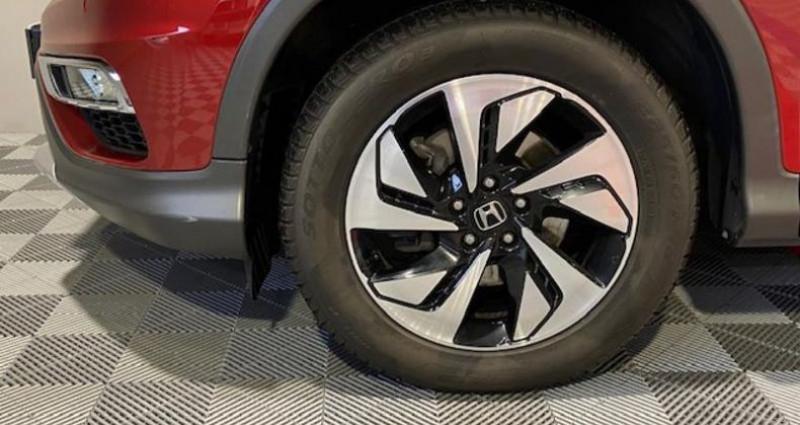 Honda CR-V 1.6 i-DTEC 120ch Executive Navi 2WD Rouge occasion à Saint Etienne - photo n°4