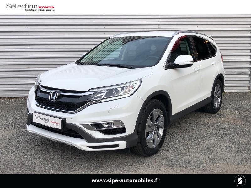 Honda CR-V 1.6 i-DTEC 120ch Executive Navi Plus 2WD Blanc occasion à Le Bouscat