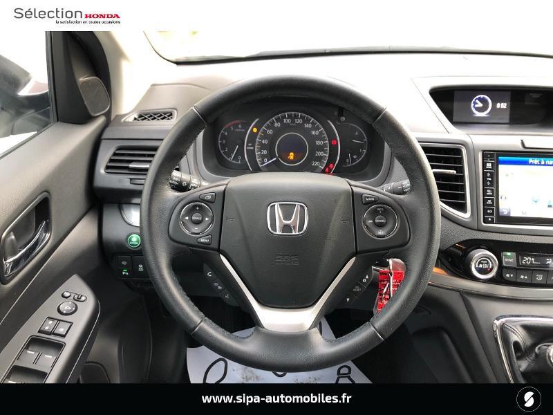 Honda CR-V 1.6 i-DTEC 120ch Executive Navi Plus 2WD Blanc occasion à Le Bouscat - photo n°6