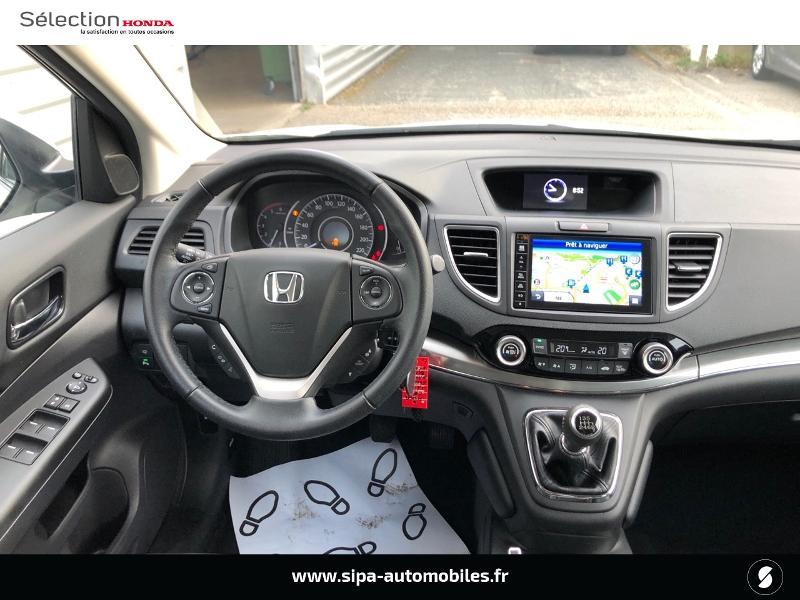 Honda CR-V 1.6 i-DTEC 120ch Executive Navi Plus 2WD Blanc occasion à Le Bouscat - photo n°2
