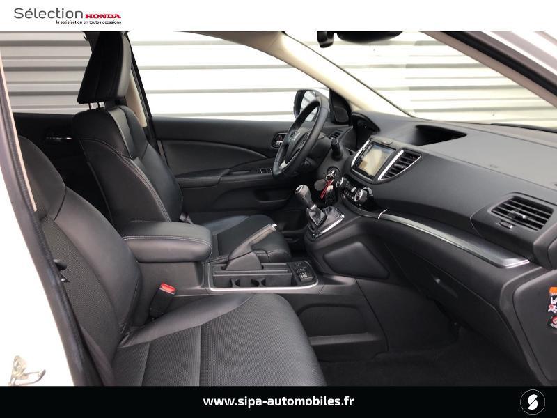 Honda CR-V 1.6 i-DTEC 120ch Executive Navi Plus 2WD Blanc occasion à Le Bouscat - photo n°5
