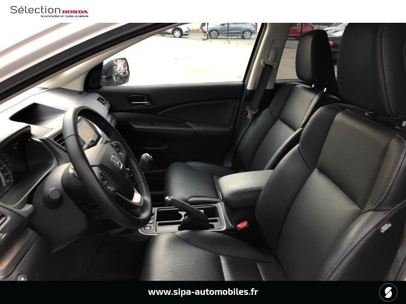 Honda CR-V 1.6 i-DTEC 120ch Executive Navi Plus 2WD Blanc occasion à Le Bouscat - photo n°9