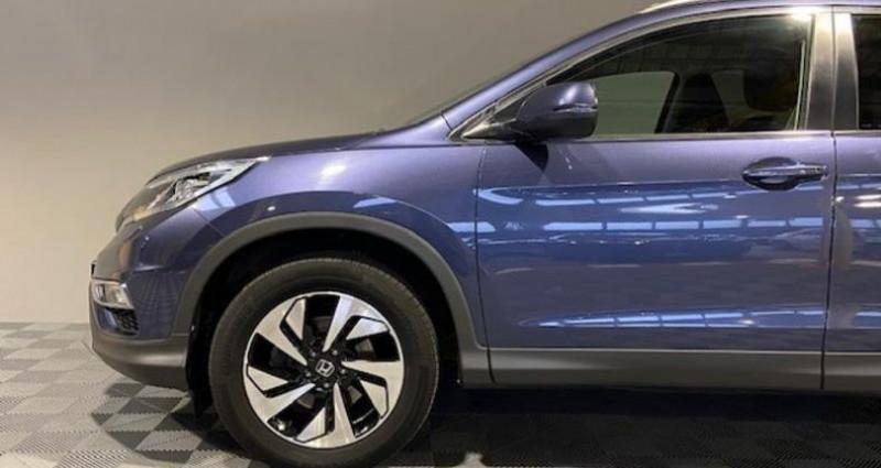 Honda CR-V 1.6 i-DTEC 160ch Exclusive Navi 4WD AT Bleu occasion à Saint Etienne - photo n°4