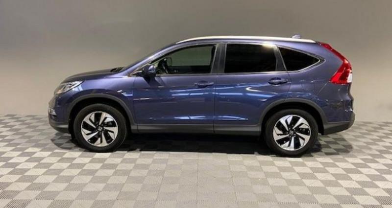 Honda CR-V 1.6 i-DTEC 160ch Exclusive Navi 4WD AT Bleu occasion à Saint Etienne - photo n°6