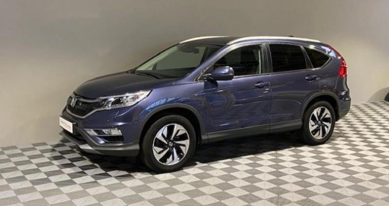 Honda CR-V 1.6 i-DTEC 160ch Exclusive Navi 4WD AT Bleu occasion à Saint Etienne
