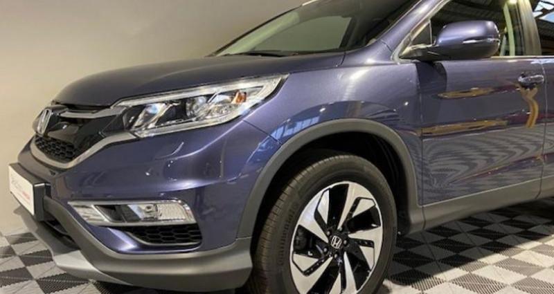 Honda CR-V 1.6 i-DTEC 160ch Exclusive Navi 4WD AT Bleu occasion à Saint Etienne - photo n°2
