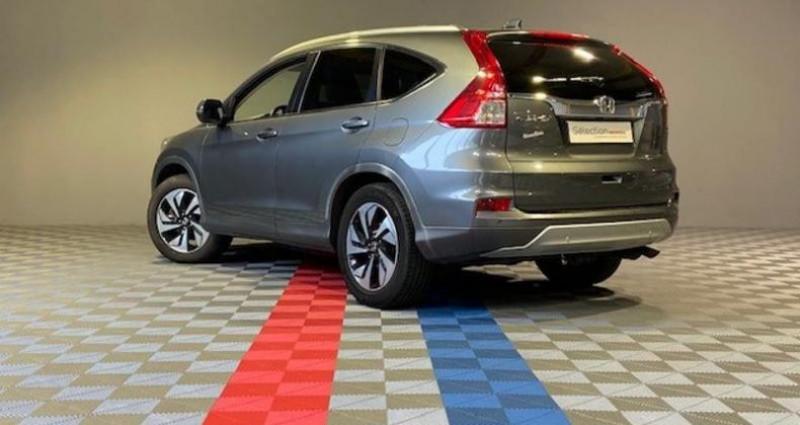 Honda CR-V 1.6 i-DTEC 160ch Exclusive Navi 4WD AT Argent occasion à Saint Etienne - photo n°2