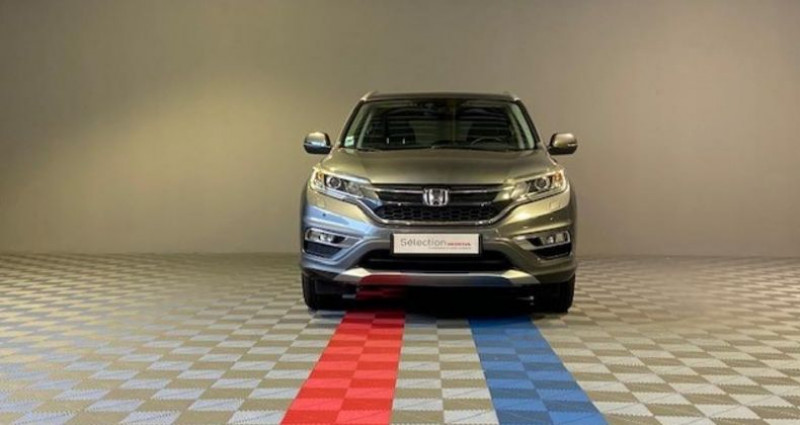 Honda CR-V 1.6 i-DTEC 160ch Exclusive Navi 4WD AT Argent occasion à Saint Etienne - photo n°3