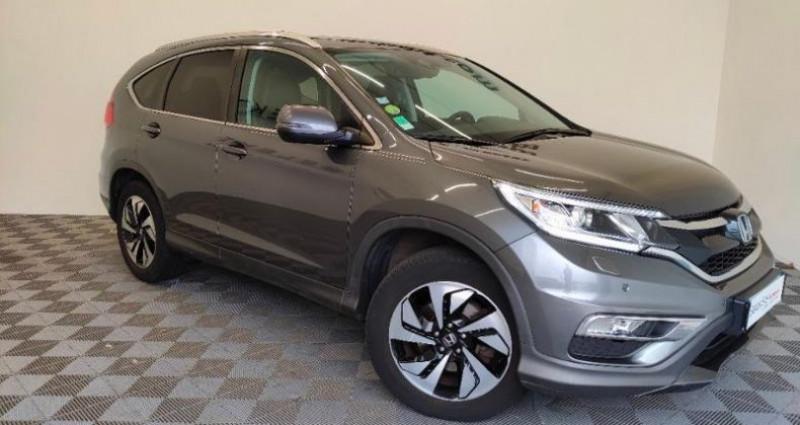 Honda CR-V 1.6 i-DTEC 160ch Exclusive Navi 4WD Gris occasion à TOURLAVILLE