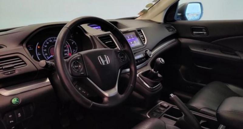 Honda CR-V 1.6 i-DTEC 160ch Exclusive Navi 4WD Gris occasion à TOURLAVILLE - photo n°7