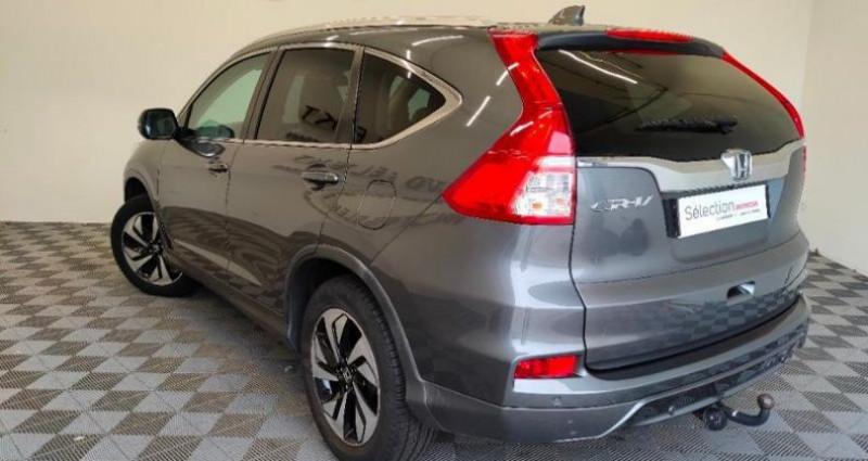 Honda CR-V 1.6 i-DTEC 160ch Exclusive Navi 4WD Gris occasion à TOURLAVILLE - photo n°4