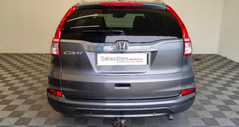 Honda CR-V 1.6 i-DTEC 160ch Exclusive Navi 4WD Gris occasion à TOURLAVILLE - photo n°5