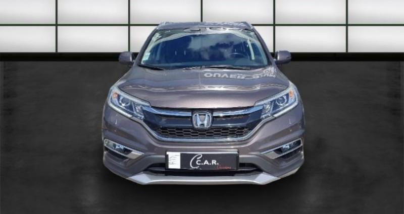 Honda CR-V 1.6 i-DTEC 160ch Executive Navi 4WD AT Gris occasion à La Rochelle - photo n°2