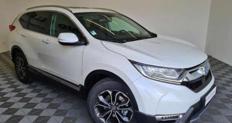 Honda CR-V 2.0 i-MMD 184ch Exclusive 2WD AT Blanc occasion à TOURLAVILLE