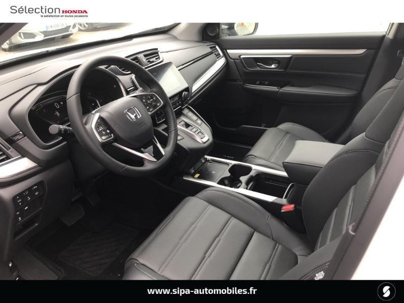Honda CR-V 2.0 i-MMD e:HEV 184ch Exclusive 2WD AT Blanc occasion à Le Bouscat - photo n°5