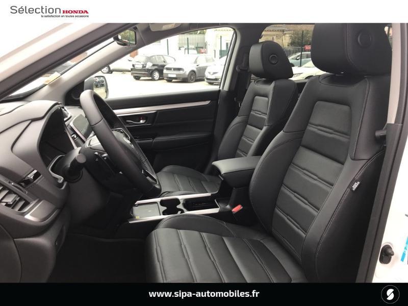 Honda CR-V 2.0 i-MMD e:HEV 184ch Exclusive 2WD AT Blanc occasion à Le Bouscat - photo n°8