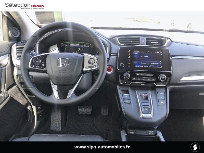 Honda CR-V 2.0 i-MMD e:HEV 184ch Exclusive 2WD AT Blanc occasion à Le Bouscat - photo n°2