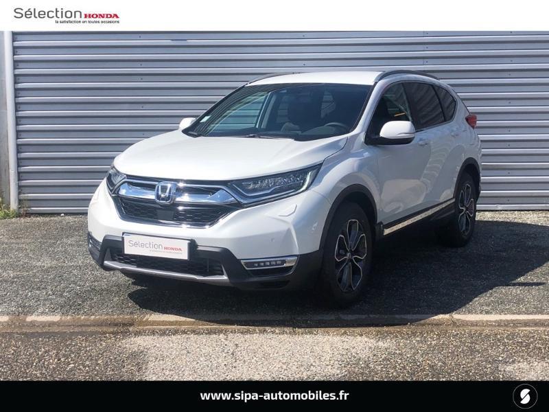 Honda CR-V 2.0 i-MMD e:HEV 184ch Exclusive 2WD AT Blanc occasion à Le Bouscat