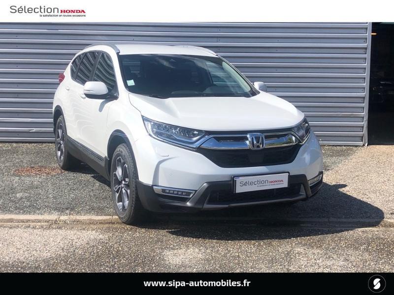 Honda CR-V 2.0 i-MMD e:HEV 184ch Exclusive 2WD AT Blanc occasion à Le Bouscat - photo n°3