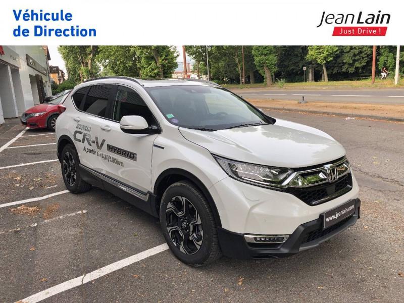 Honda CR-V CR-V Hybrid 2.0 i-MMD 2WD Executive Toit Panoramique 5p Blanc occasion à Échirolles - photo n°3