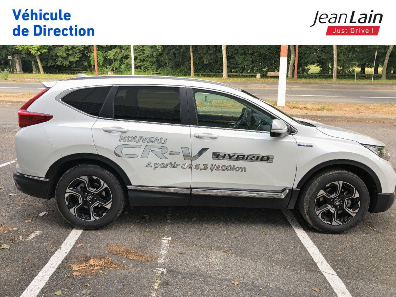Honda CR-V CR-V Hybrid 2.0 i-MMD 2WD Executive Toit Panoramique 5p Blanc occasion à Échirolles - photo n°4