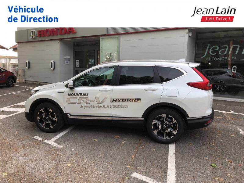 Honda CR-V CR-V Hybrid 2.0 i-MMD 2WD Executive Toit Panoramique 5p Blanc occasion à Échirolles - photo n°8