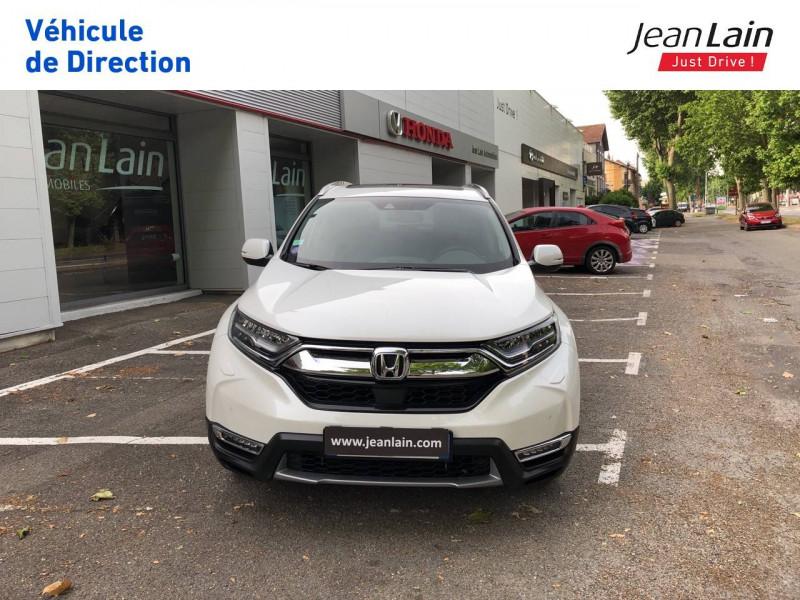 Honda CR-V CR-V Hybrid 2.0 i-MMD 2WD Executive Toit Panoramique 5p Blanc occasion à Échirolles - photo n°2