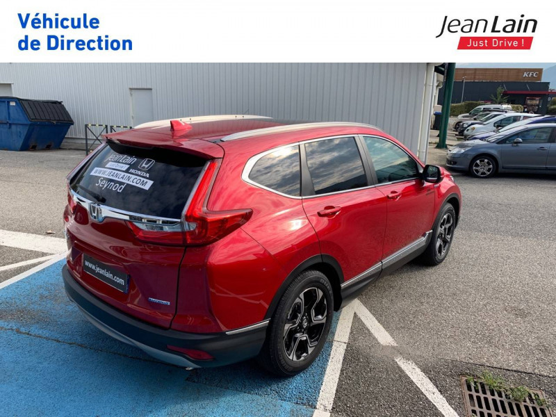 Honda CR-V CR-V Hybrid 2.0 i-MMD 2WD Executive Toit Panoramique 5p Rouge occasion à Seynod - photo n°5