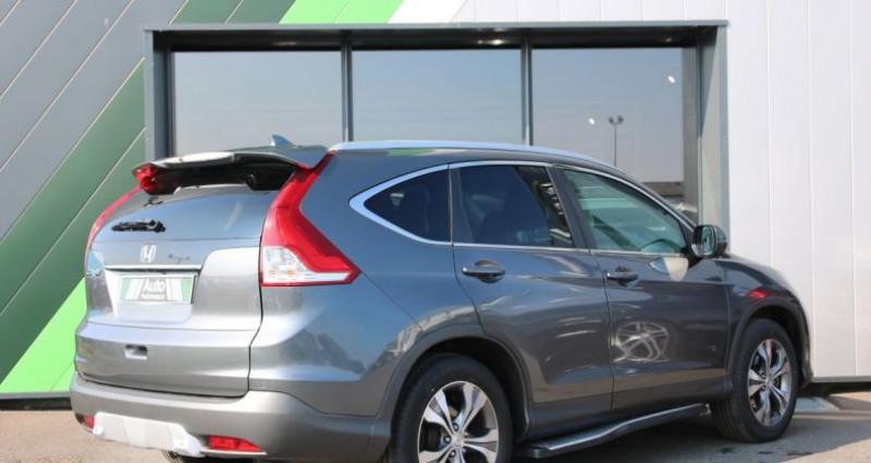 Honda CR-V IV 2.2 I-DTEC 150 4WD EXECUTIVE NAVI Gris occasion à Jaux - photo n°3