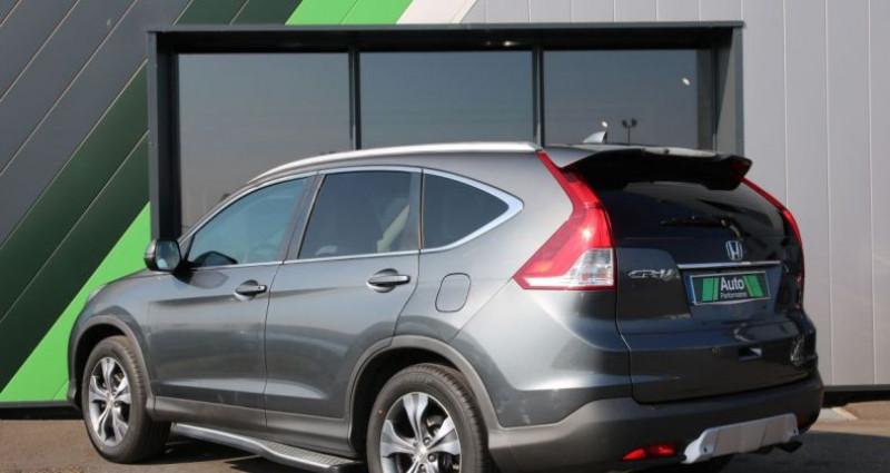 Honda CR-V IV 2.2 I-DTEC 150 4WD EXECUTIVE NAVI Gris occasion à Jaux - photo n°4
